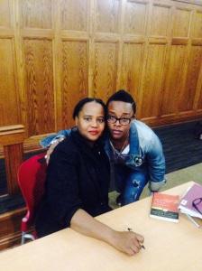 Me & Edwidge 2014