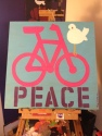Cycling for Peace