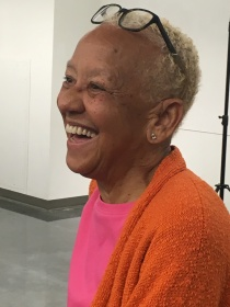 Nikki smiling