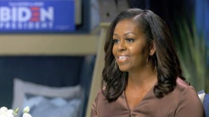 Michelle Obama DNC image